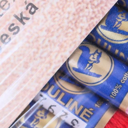 チェコ製リス印の刺繍糸