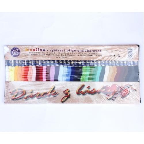 リス印の刺繍糸、チェコ製