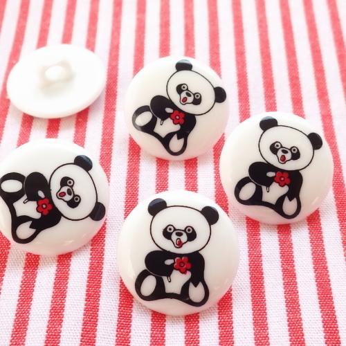 パンダのボタン