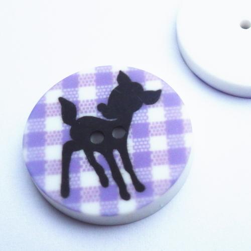 バンビのボタン